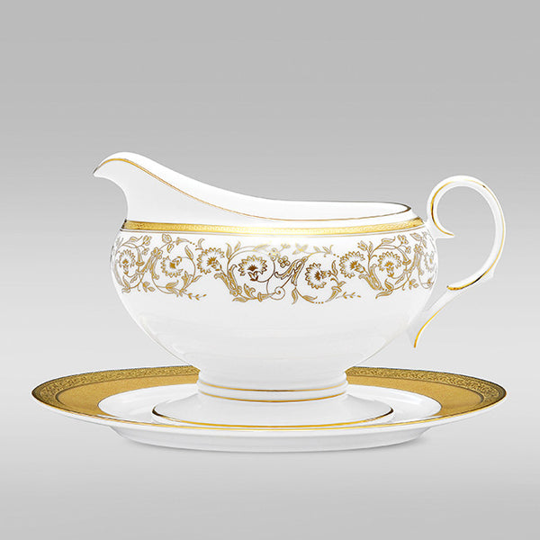 Summit Gold 4912 Gravy Boat and Tray