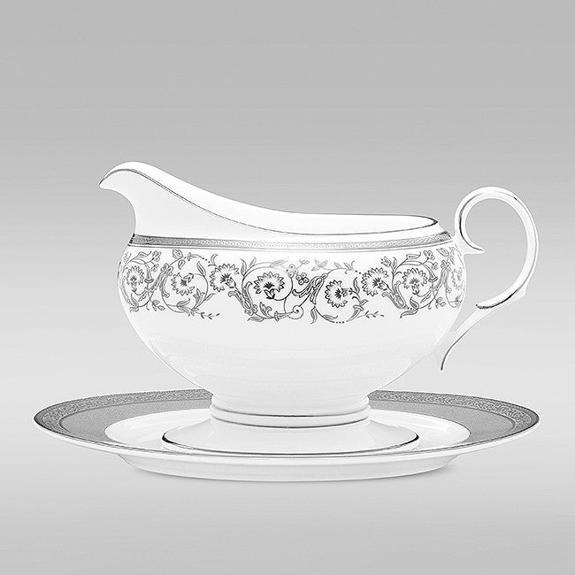 Summit Platinum 4919 Gravy Boat and Tray