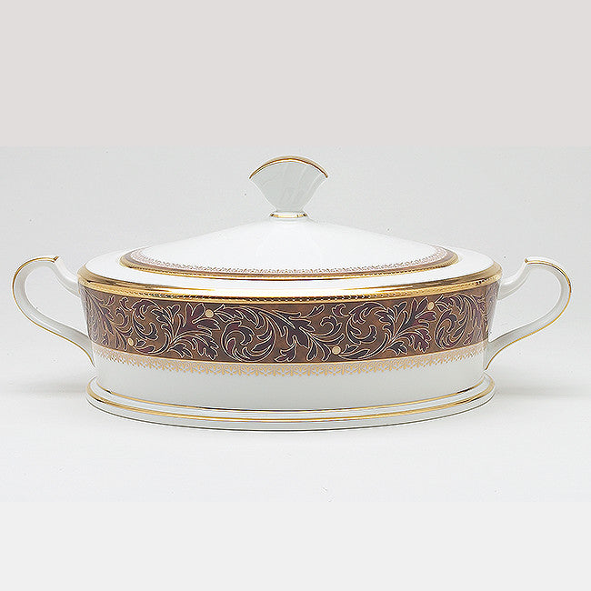 Xavier Gold 4819 Covered Vegetable/Casserole