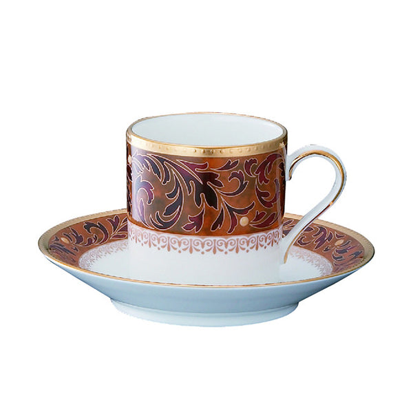 Xavier Gold 4819 Mocca (AD) Coffee Saucer