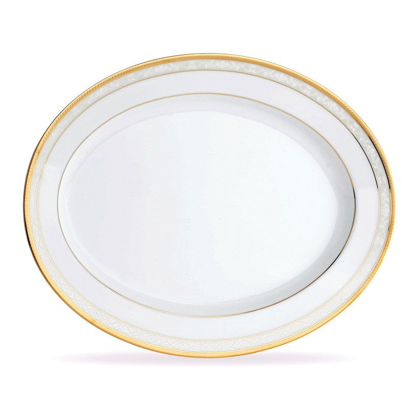 Hampshire Gold 4335 Oval Platter Medium 35cm