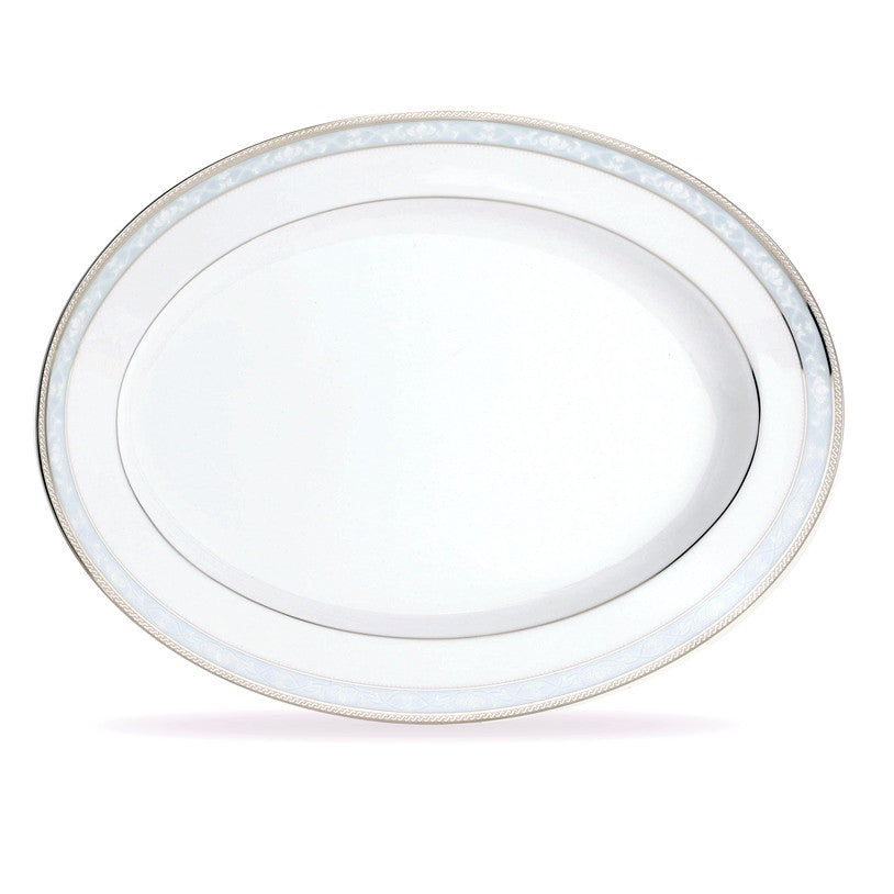 Hampshire Platinum 4336 Oval Platter Medium 35cm