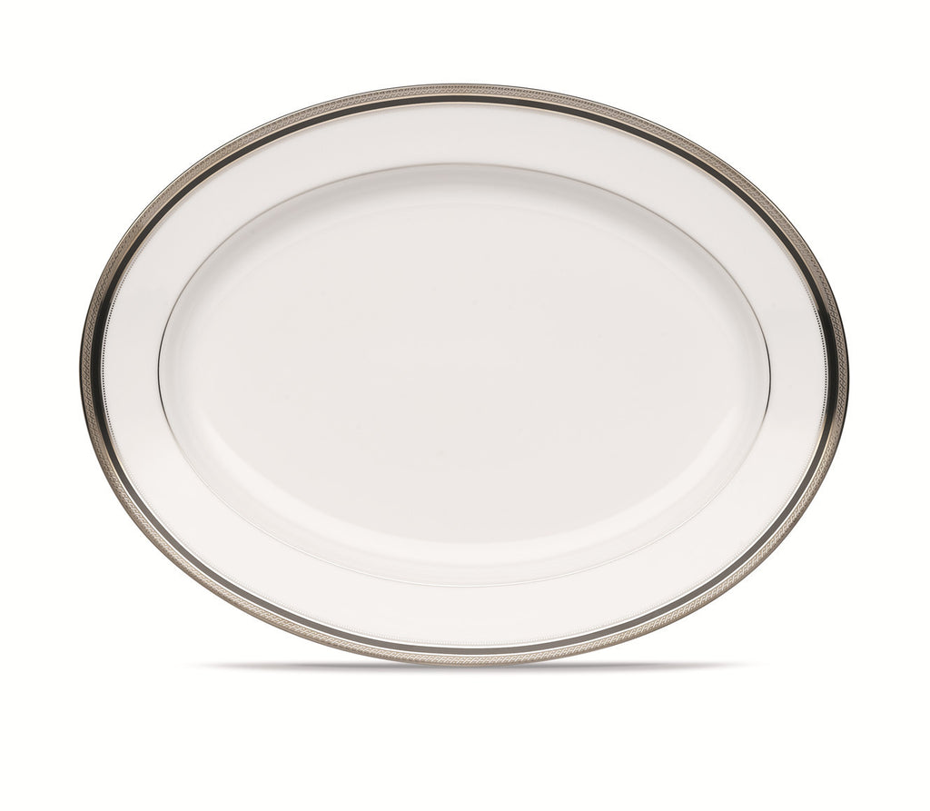 Austin Platinum 4360 Oval Platter Medium 35cm