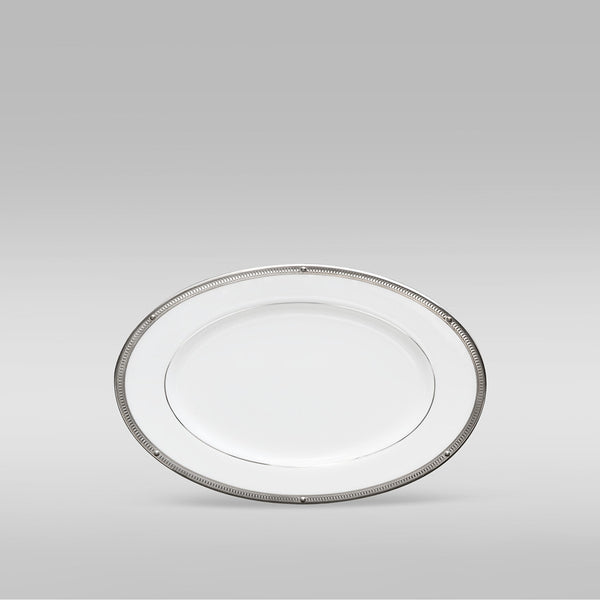 Rochelle Platinum 4795 Gravy Boat and Tray (2 piece)