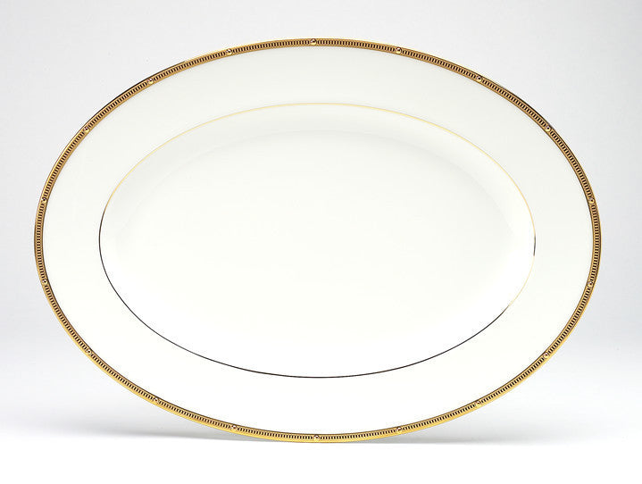 Rochelle Gold 4796 Oval Platter Small 31cm