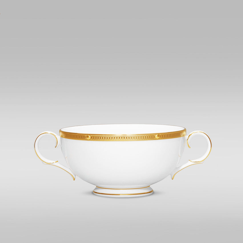 Rochelle Gold 4796 Cream Soup Cup w/handles