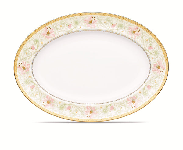 Blooming Splendor 4892 Oval Platter Large 41cm