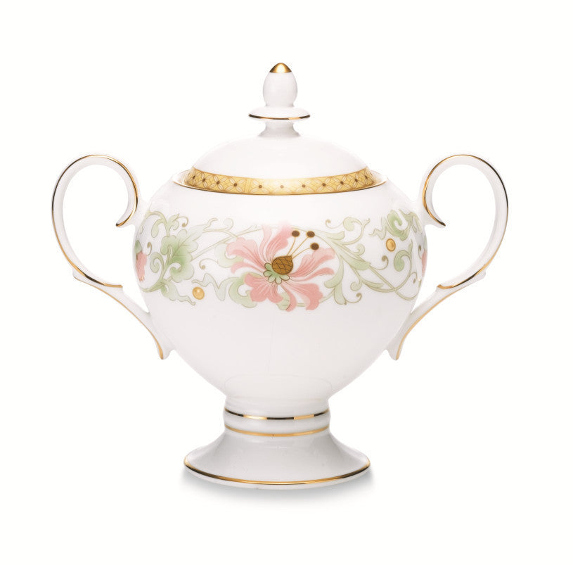 Blooming Splendor 4892 Sugar Bowl w/cover
