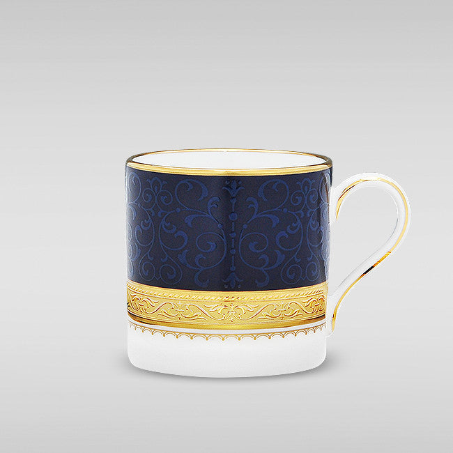 Odessa Cobalt Gold 4923 Mocca (AD) Coffee Cup