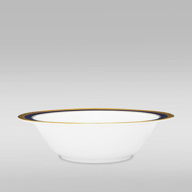 Odessa Cobalt Gold 4923 Round Serving / Salad Bowl 24.5cm