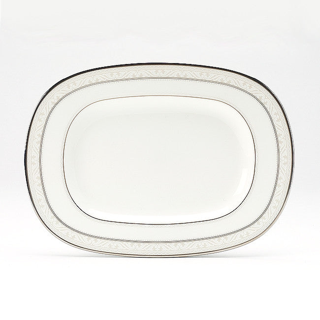 Montvale Platinum 4807 Butter/Relish Tray