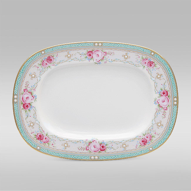 Palace Rose 4863 Gravy / Relish Tray