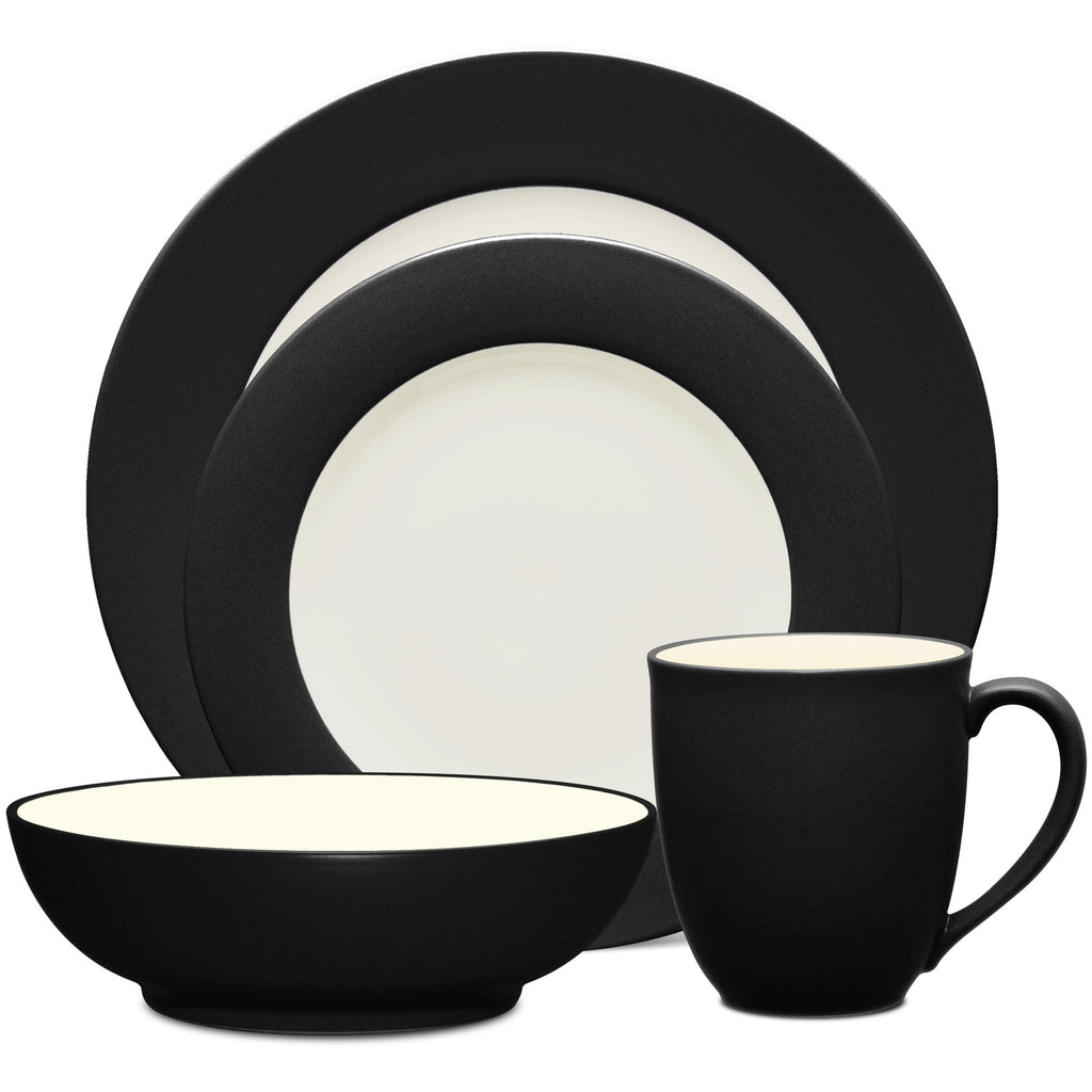 Colorwave Graphite 8034 4pc Place Setting-Rim