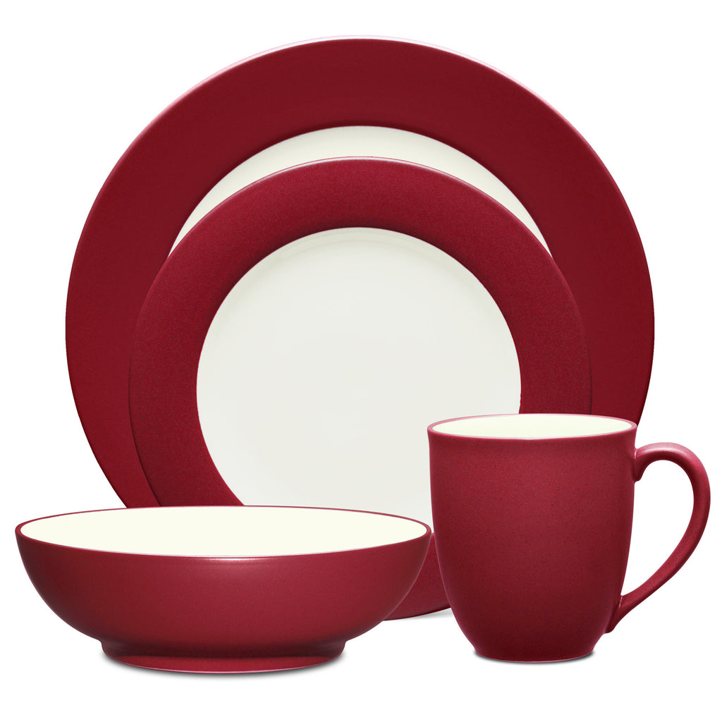 Colorwave Raspberry 8045 4pc Place Setting-Rim