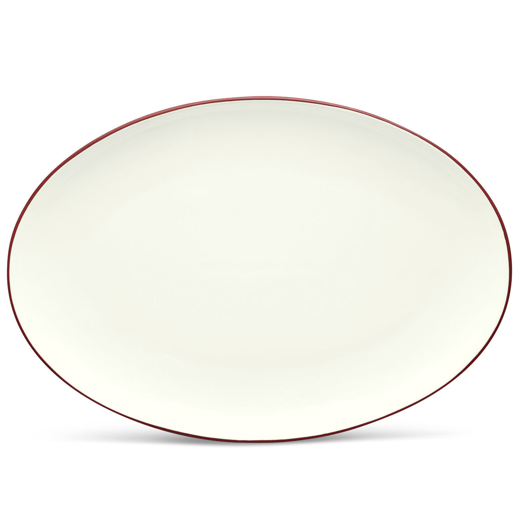 Colorwave Raspberry 8045 Oval Platter 16""