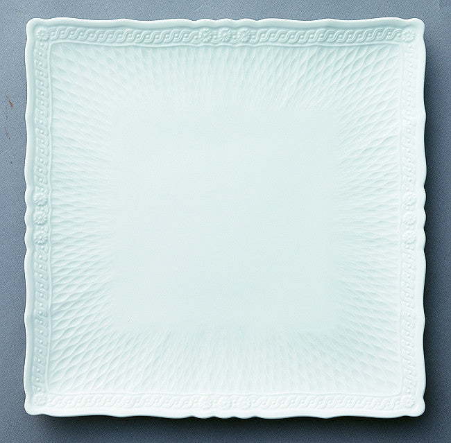 Cher Blanc 1655 Square Plate 27cm