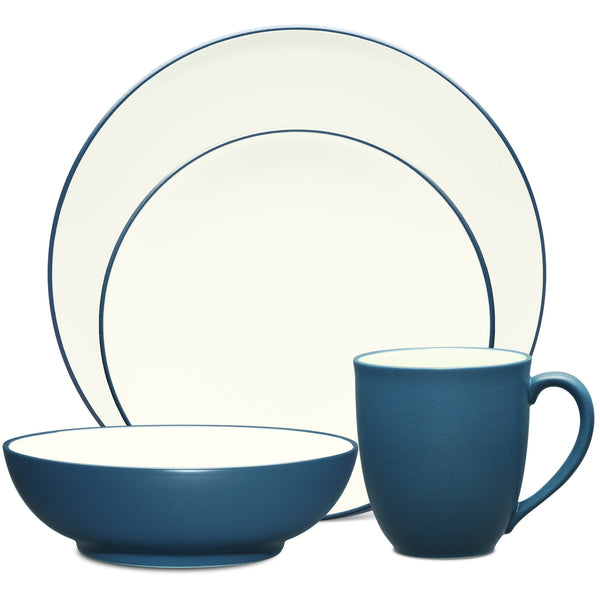 Colorwave Blue 8484 4pc Coupe Place Setting