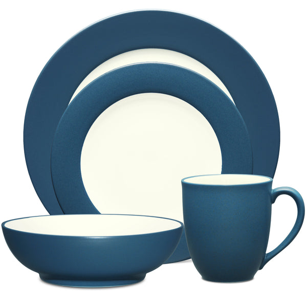 Colorwave Blue 8484 4pc Place Setting-Rim