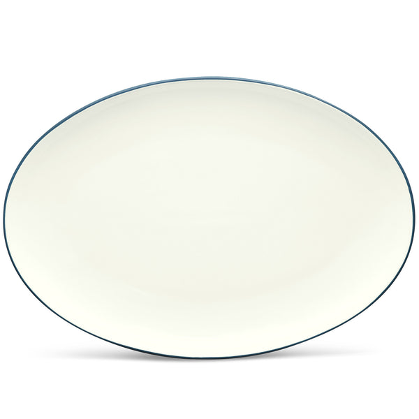 Colorwave Blue 8484 Oval Platter 16""