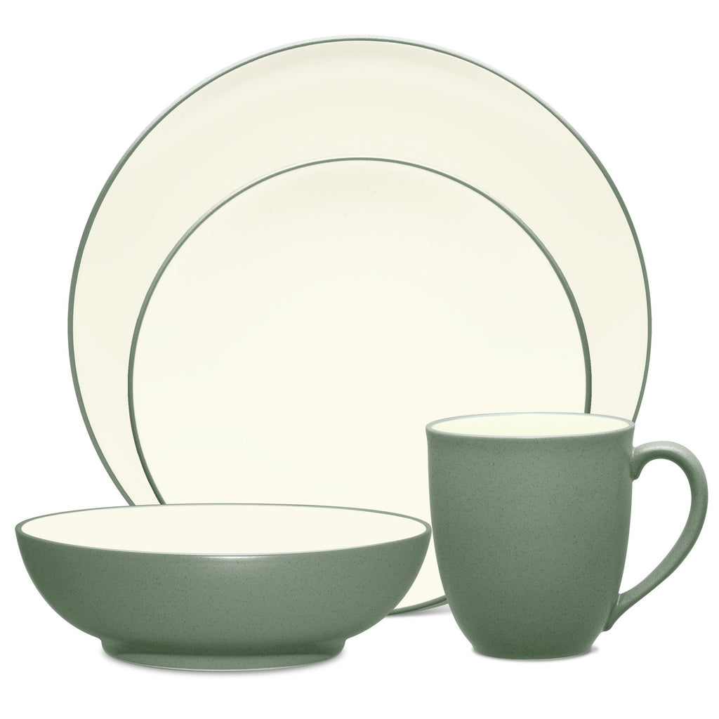 Colorwave Green 8485 4pc Coupe Place Setting