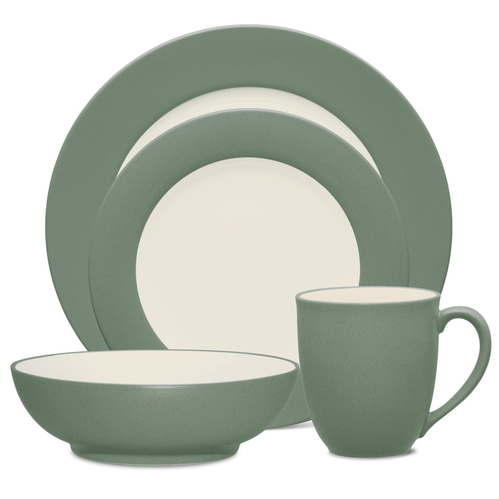 Colorwave Green 8485 4pc Place Setting-Rim
