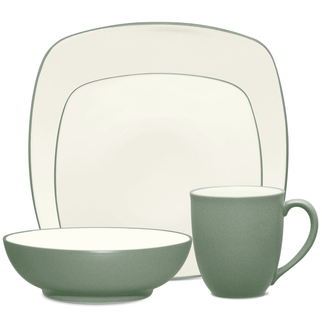 Colorwave Green 8485 4pc Square Place Setting