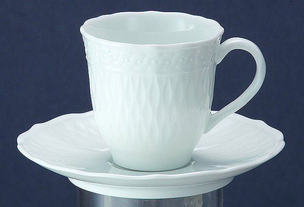 Cher Blanc 1655 AD Mocca Coffee Saucer
