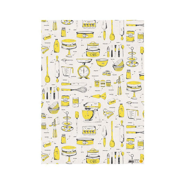 Victoria Eggs Baking Delight Gift Wrap - Yellow