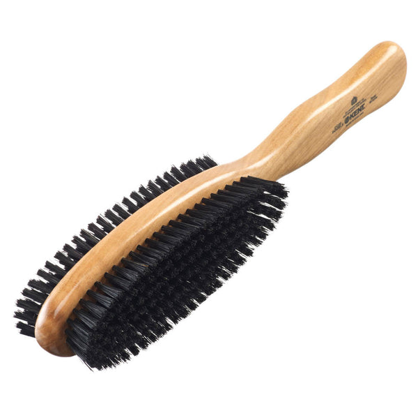 Cherry wood, natural bristle clothes brush