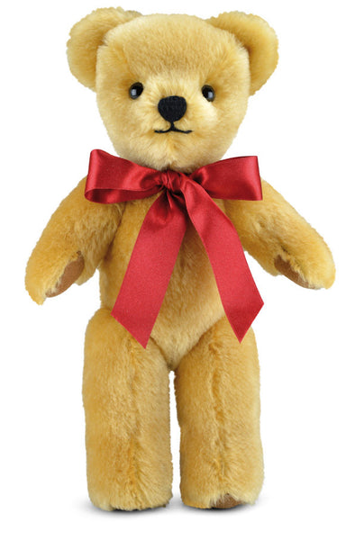 "Merrythought London Gold 10"" handmade traditional teddy bear **Free Offical Merrythought Gift Box*"