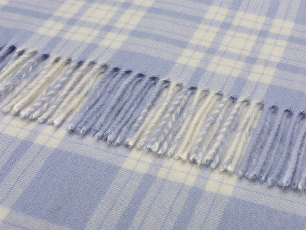 Bronte Baby - Menzies - Blue/White - Blanket