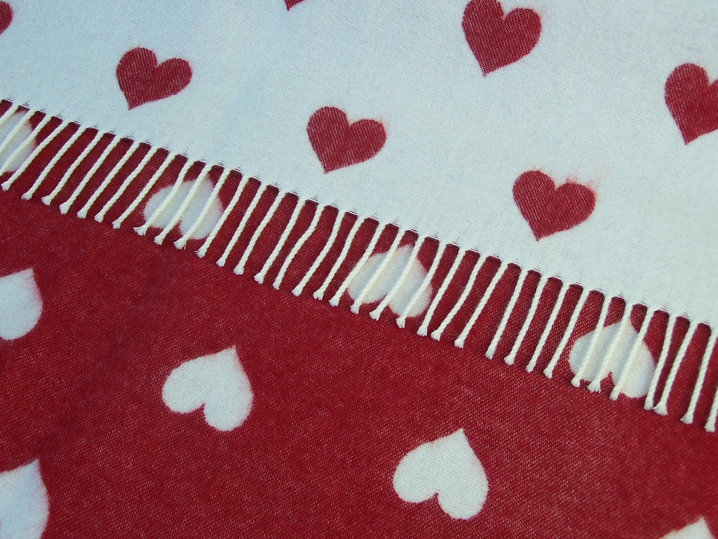 Bronte Baby - Red Heart - Blanket