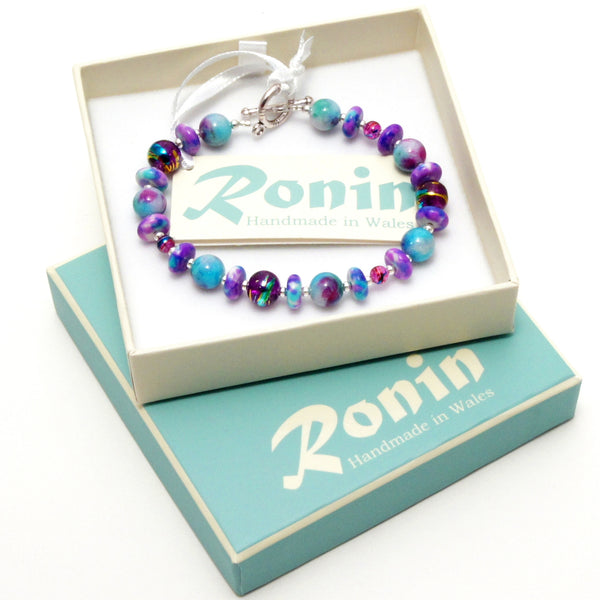 Ronin Patchwork Bracelet - Medium (Type 1)