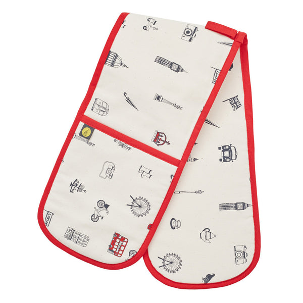 Victoria Eggs Simply London Double Oven Glove