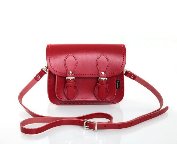 Classic Red Micro Satchel