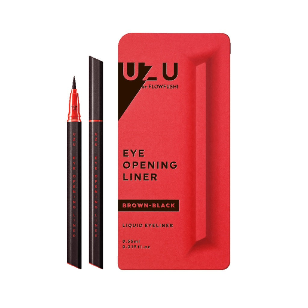 UZU Eye Opening Liner #Brown Black