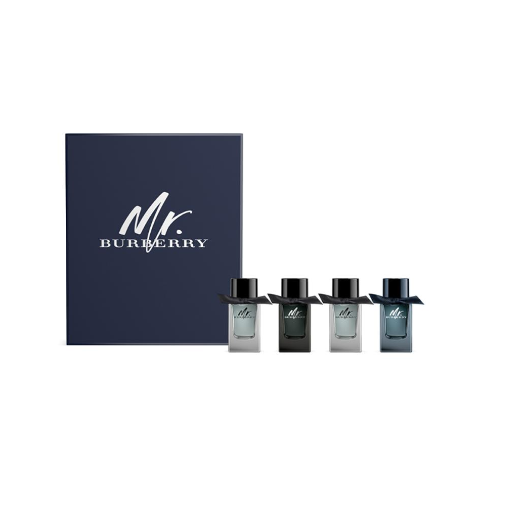 Mr. Burberry Indigo 4x5ml Mini Gift Set