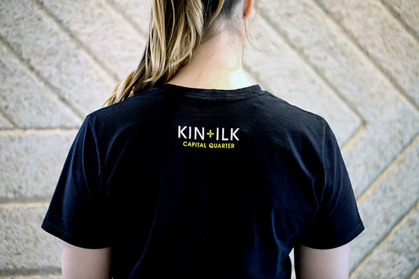 KIN+ILK CAPITAL QUARTER T-SHIRT
