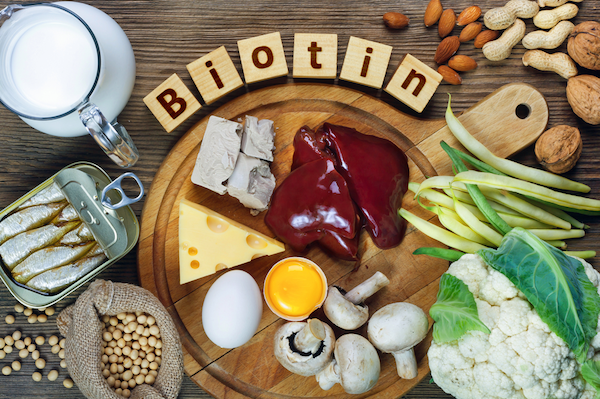 foods containing biotin for hair growth