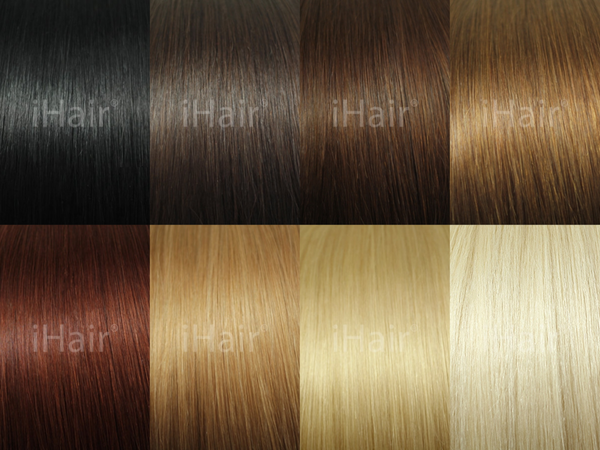 Glazed ♥ Dyed Hair ♥ Beautiful Colors ♥ 50 grams - iHair Hair Extensions Webshop