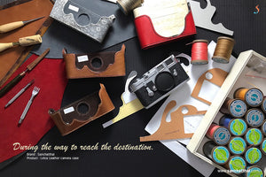 Thank you Leica cameras and all fans. Leather camera case for Leica