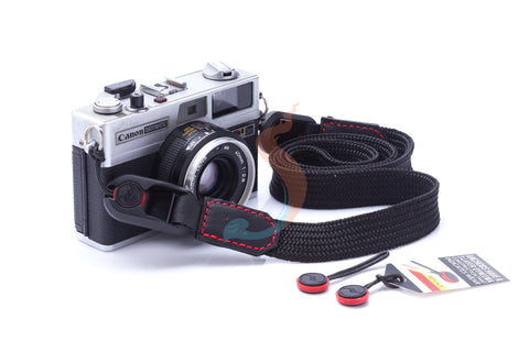 Nylon camera strap combination with Peak Design Anchor Links