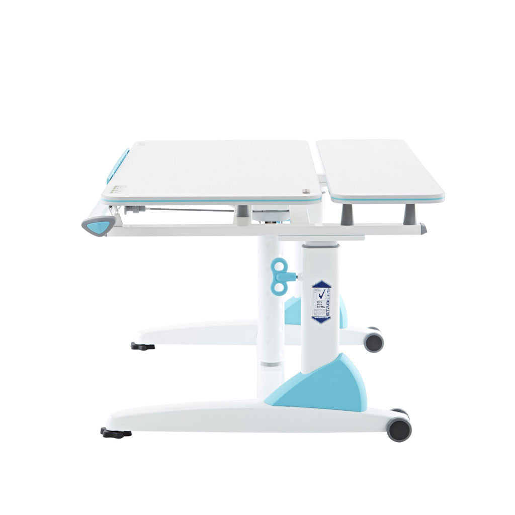 G2-XS - Ergonomic Desk with multi adjust desktop angle and German Stabilus gas lift for easy height adjustment and