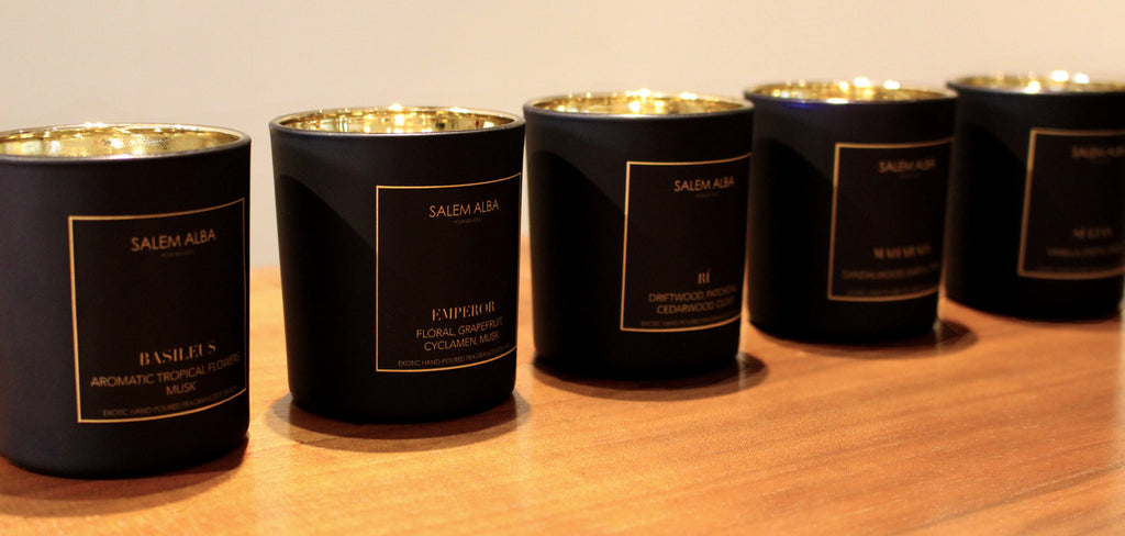 5 Kings Kollection Salem Alba Scented Candles