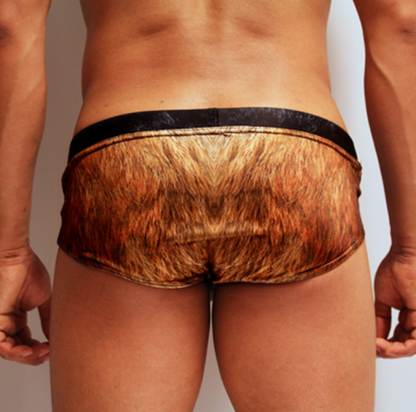 Fur Swimming Trunks