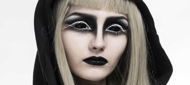 How could Black Sclera Contacts  be the entertainment for parties and more?