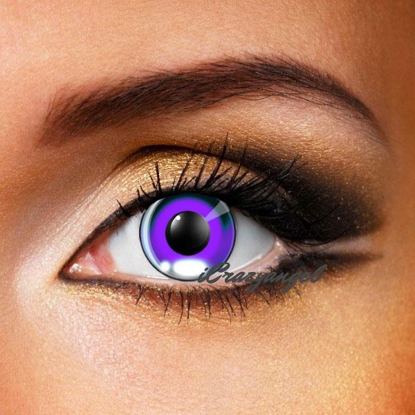Anime Costume Violet Contact Lenses (New)