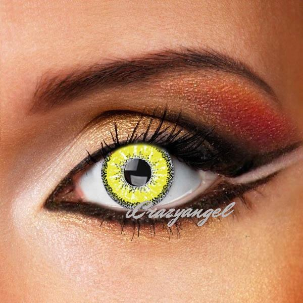 Evil Spirit Yellow Contact Lenses