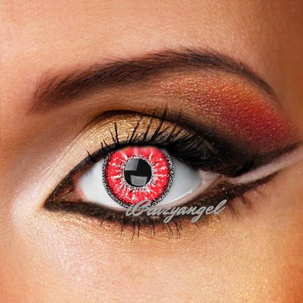 Evil Spirit Red Contact Lenses