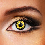 Yellow Dolly Crazy Contacts (New)